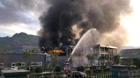 Fertilizer factory explosion in China leaves 47 dead, 640 injured