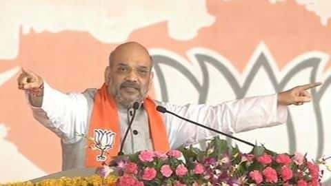 No alliance can stop BJP from realizing development agenda: Shah
