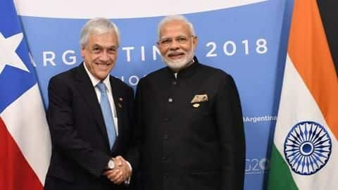 #G20Summit: Modi meets Chilean President, discusses ways to deepen partnership