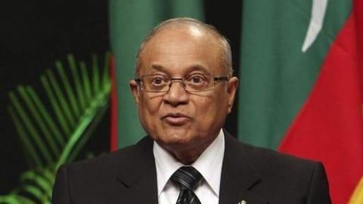 India helped in restoration of democracy: Ex-Maldivian President