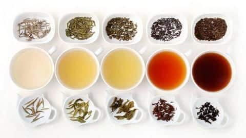 #HealthBytes: 5 types of tea and their benefits