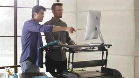 #HealthBytes: Top health benefits of using a standing desk
