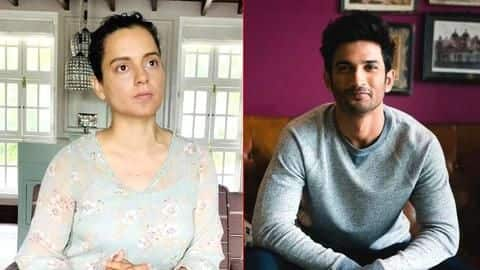 "It's a ""planned murder"" by Bollywood: Kangana on Sushant's death"