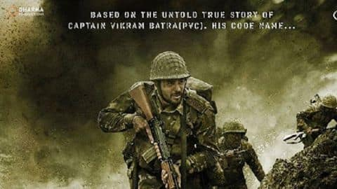 On his birthday, Sidharth Malhotra shares first look of 'Shershaah'