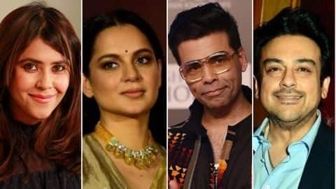 Who all won Padma Shri from film industry?