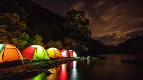 Top five best places to camp around the world