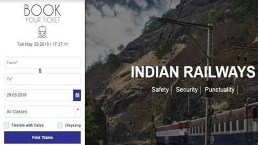 New features on Indian Railways revamped e-ticketing website