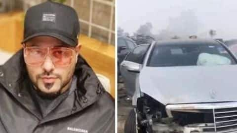 Badshah meets with a road accident in Punjab; escapes unhurt