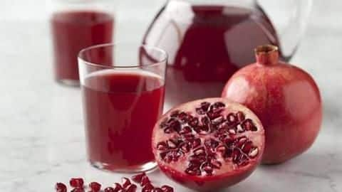Top 5 amazing health benefits of pomegranate
