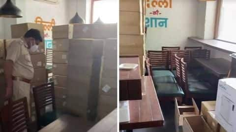 COVID-19: 96 oxygen concentrators seized from Delhi's Khan Chacha restaurant