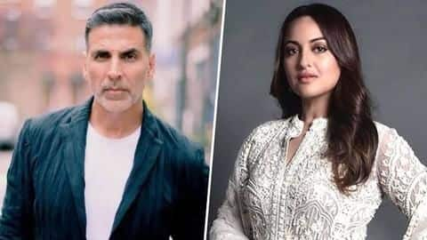 Akshay Kumar called misogynist for seven-year-old comment; Sonakshi defends him