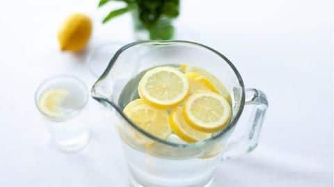 #HealthBytes: 5 health benefits of starting your day with lemon-water