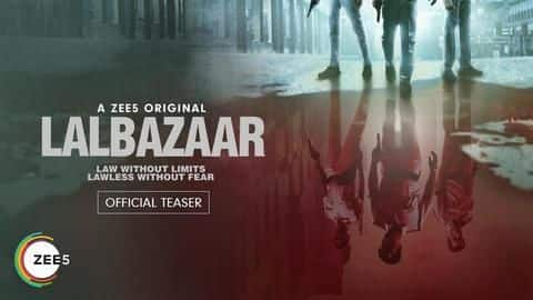 'Lalbazaar': Ajay Devgn teases upcoming ZEE5 crime thriller series