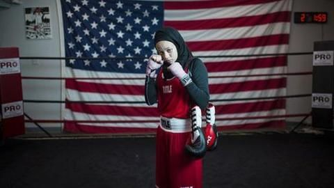 US teen wins right to wear Hijab and box
