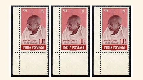 1948 Gandhi stamps sold for crores!