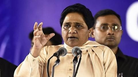 Mayawati says poor Hindus victims of cow terror