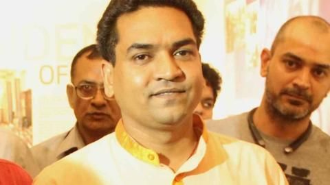 Kapil Mishra: Kejriwal took Rs. 2 crore from Satyendra Jain