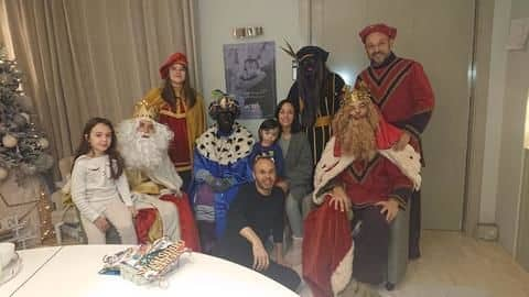 Posing with people in blackface lands Andres Iniesta in trouble