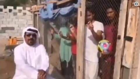 Locked up for supporting India? UAE man cages several men