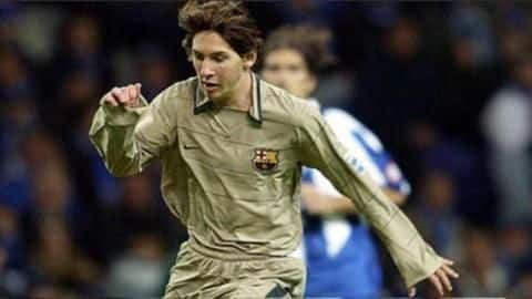 #ThisDayThatYear: Messi made his for Barcelona 15 years ago
