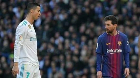 Messi overtakes Ronaldo to be 2018's highest scorer
