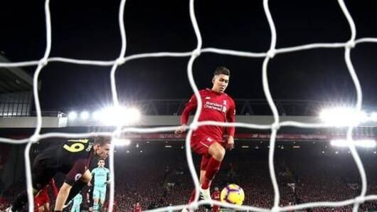 Firmino-led Liverpool thrash Arsenal 5-1 at Anfield