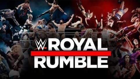 WWE Royal Rumble: List of all matches