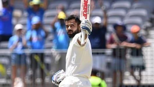 Australian journalist mocks Kohli's on-field antics