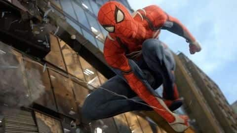 Spider-Man swings with goal  in this new gameplay launch trailer
