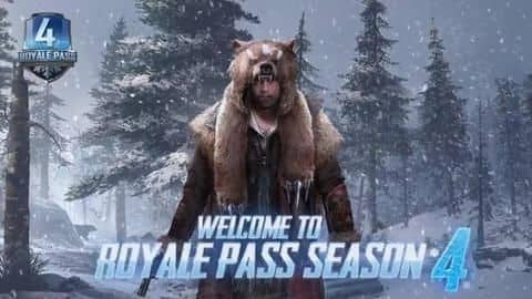 PUBG Mobile Season 4: All about the Royale Pass