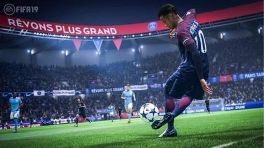 FIFA 19's first major update changes bicycle kicks