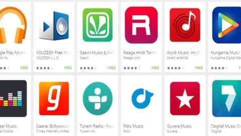Top 5 music streaming apps for your smartphone