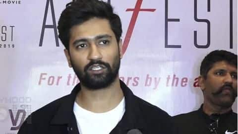 Vicky Kaushal speaks on drug controversy in KJo's party