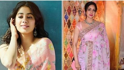 Janhvi looks like Sridevi's carbon copy in this latest picture