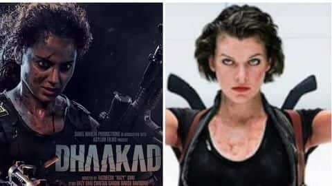 'Dhaakad' is in the same space as 'Resident Evil': Kangana