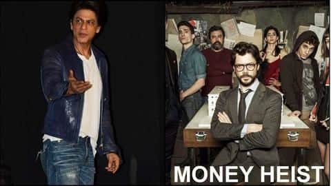 SRK clears air about producing Bollywood adaptation of 'Money Heist'