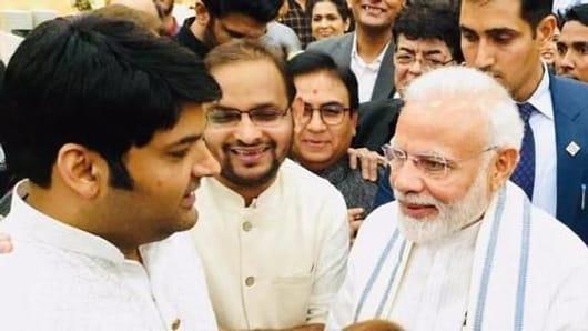 PM Narendra Modi thanks Kapil Sharma on Twitter
