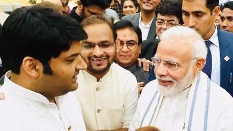 When Kapil Sharma appreciated PM Modi's sense of humor