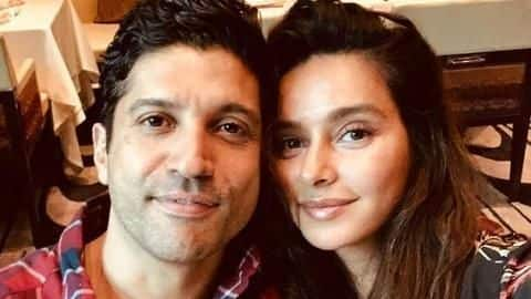 Farhan Akhtar, Shibani Dandekar make it Insta-official on his birthday