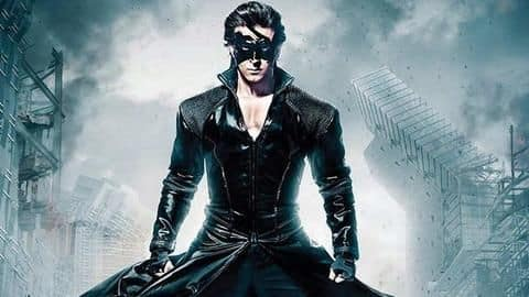 Hrithik Roshan on 'Krrish 4': Script is in final stage