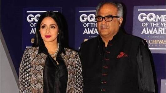 Boney Kapoor reacts to Sridevi's recent death findings
