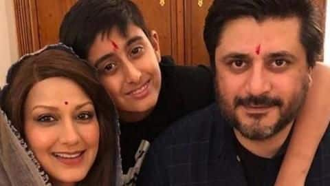 Sonali Bendre celebrates Diwali - Movie News