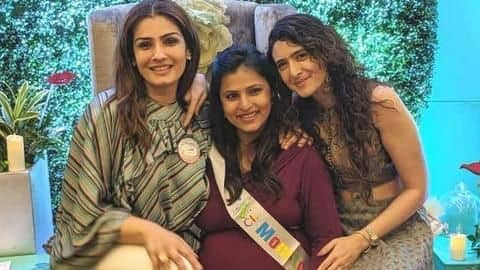 Raveena Tandon to become grandmother for the second time