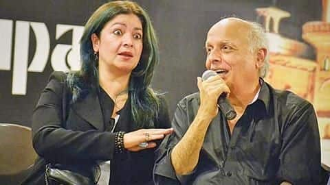 Daughter Pooja rubbishes Mahesh Bhatt's death news, posts pictures