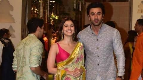 Ranbir, Alia cozy up at Ambani's Ganesh Chaturthi celebrations