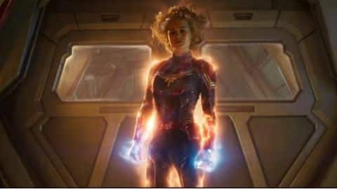 'Captain Marvel' movie releases new image of the superhero