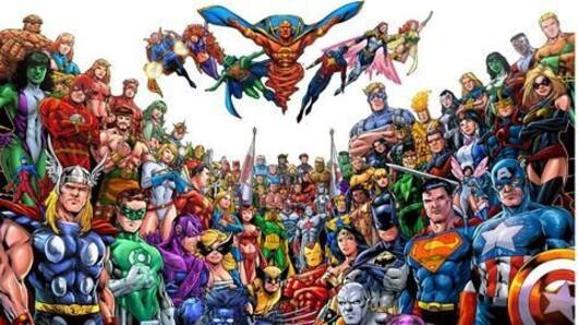 Best encounters between Marvel and DC characters