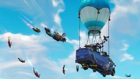 Fortnite: Here's how to thank the bus driver on mobile