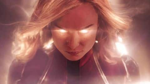 'Captain Marvel' new poster revealed ahead of second trailer