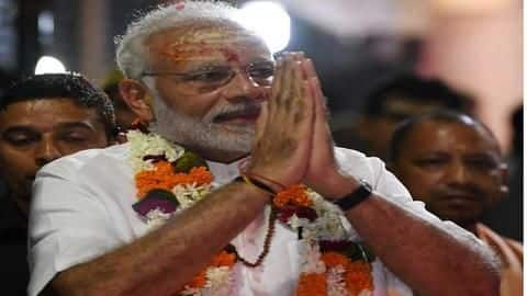 Modi gifts projects worth Rs. 500crore to his constituency, Varanasi